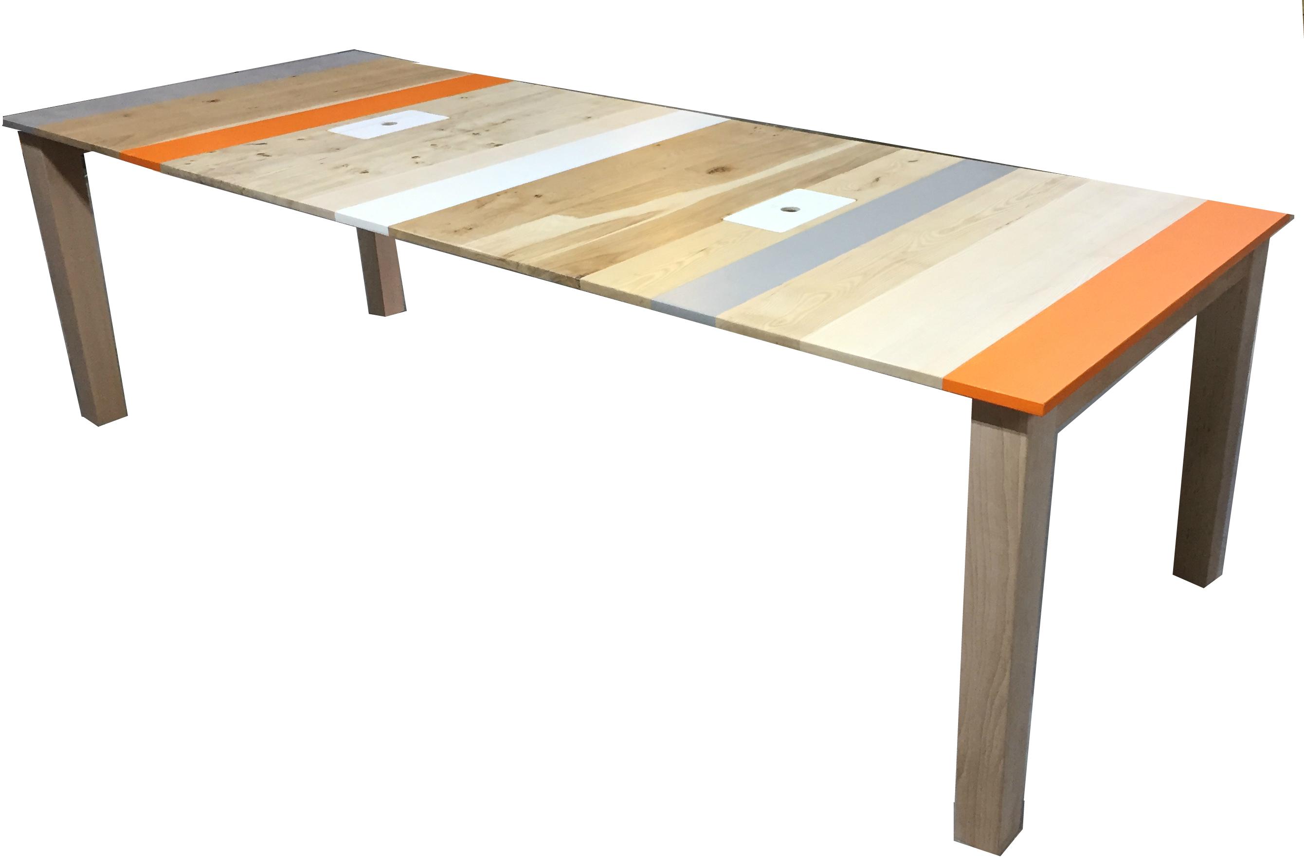 handgemaakte vergadertafel op maat